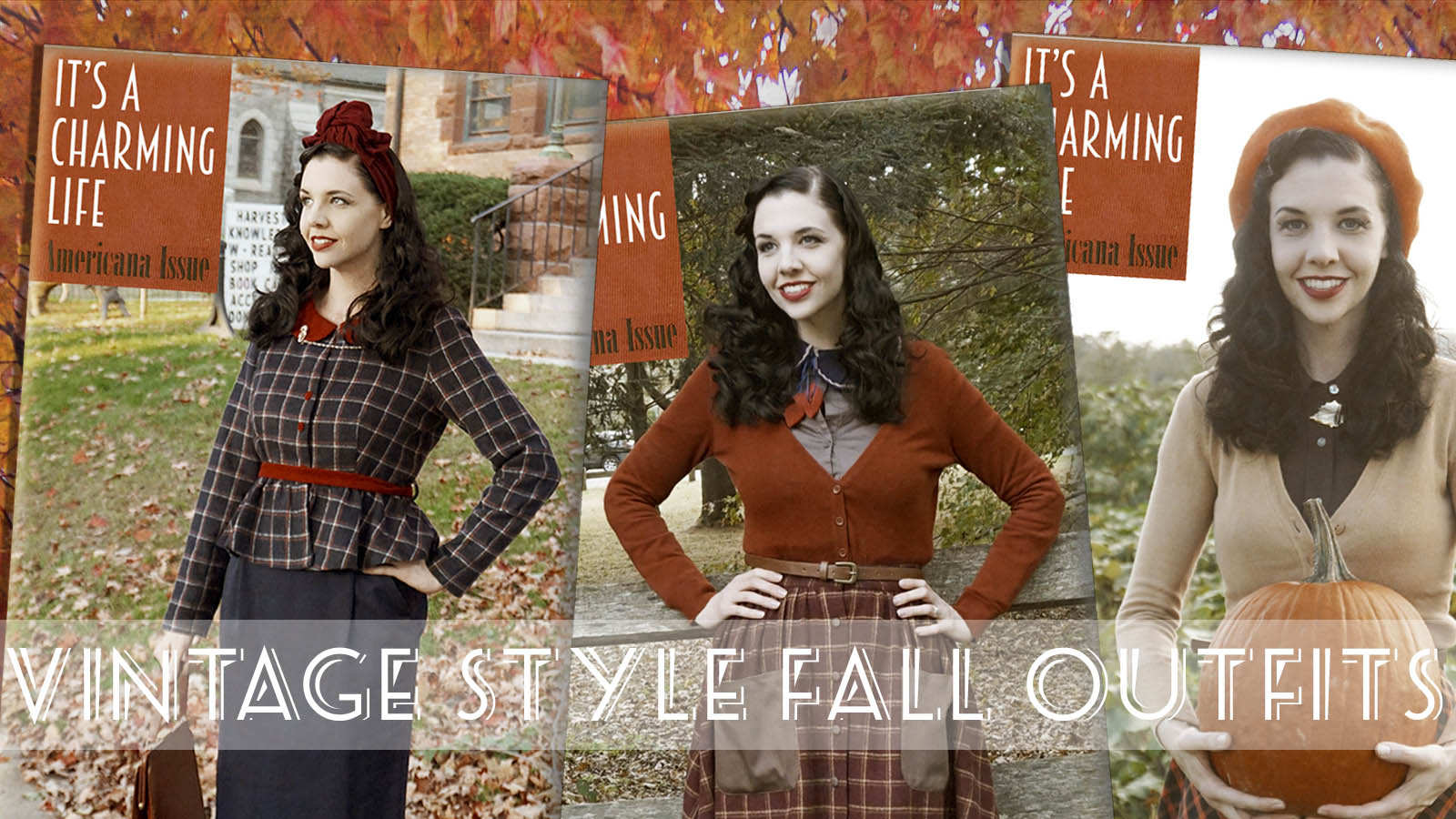 VINTAGE STYLE FALL FASHION   20 Classic Autumn Outfits   Welcome to ...