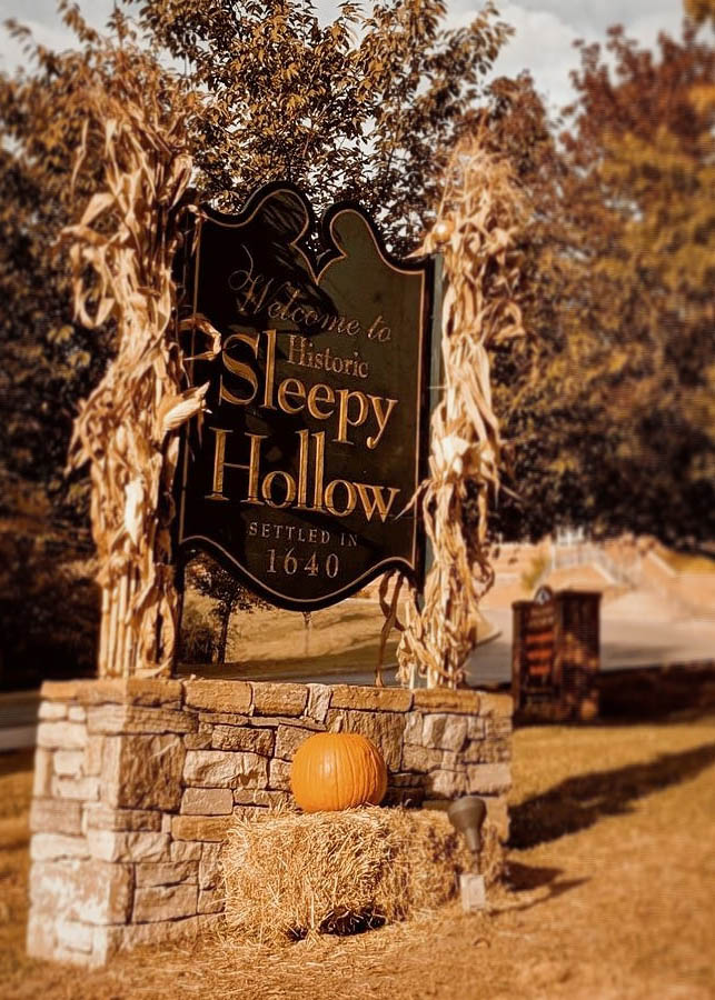 October In Sleepy Hollow Our Charming Ny Halloween Time